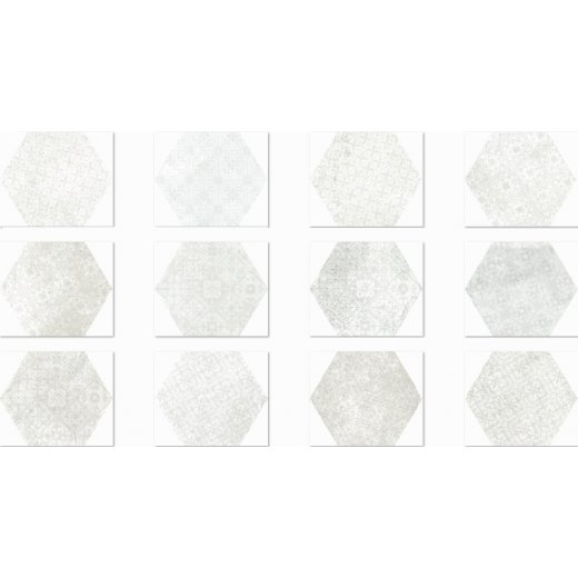 Pompeia Decor Blanco 20x24
